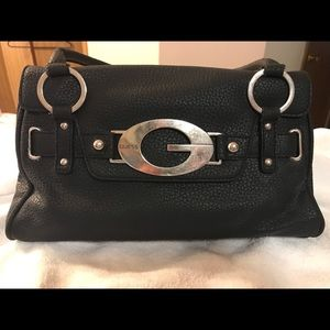 Genuine leather Guess purse with silver hardware
